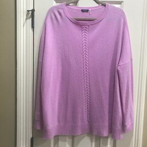 Magaschoni 100% Cashmere Oversized Cable Sweater